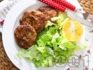 Рецепта  Пържени кюфтета от карфиол без мазнина